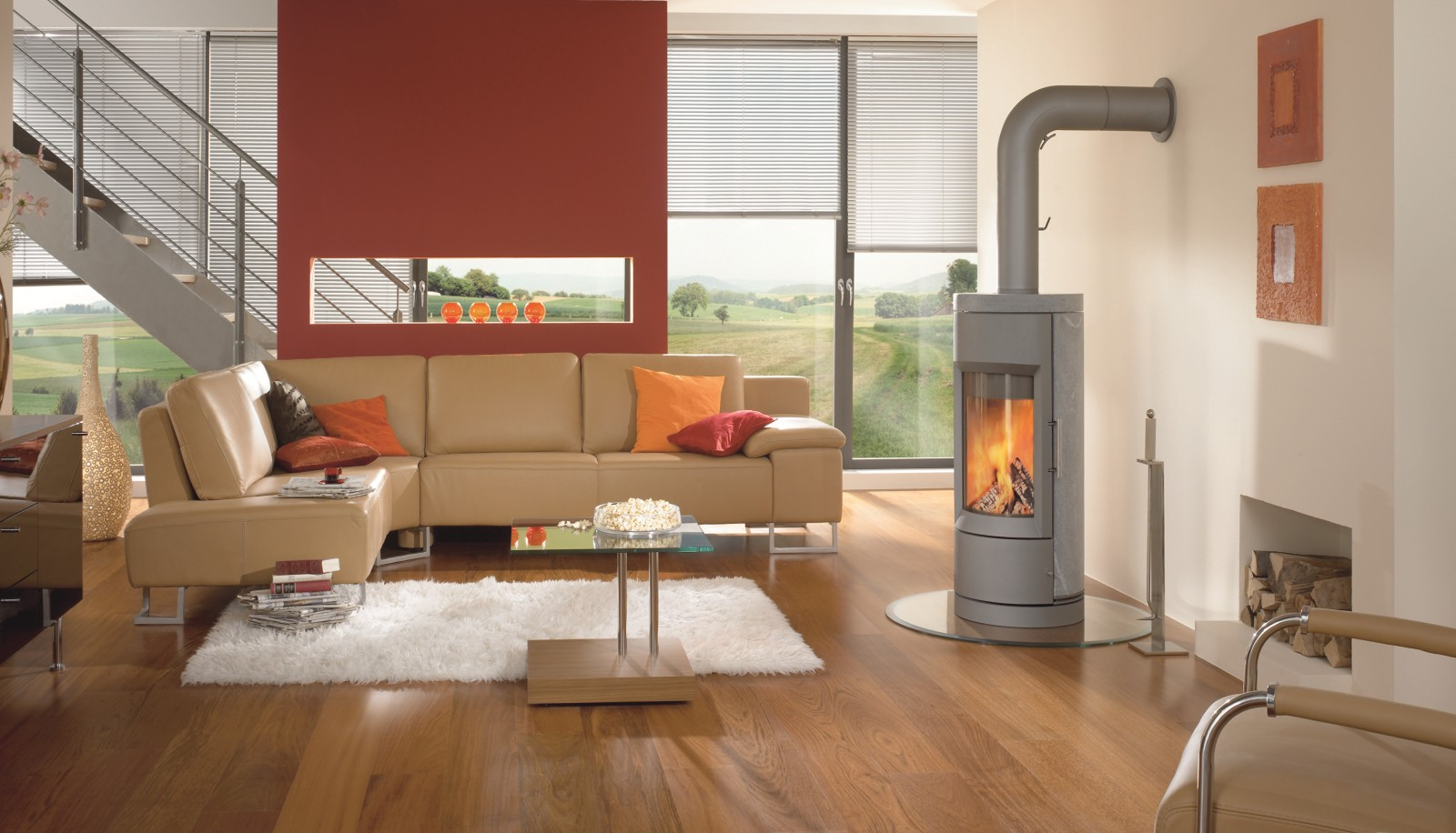 The Bari Wood Stove