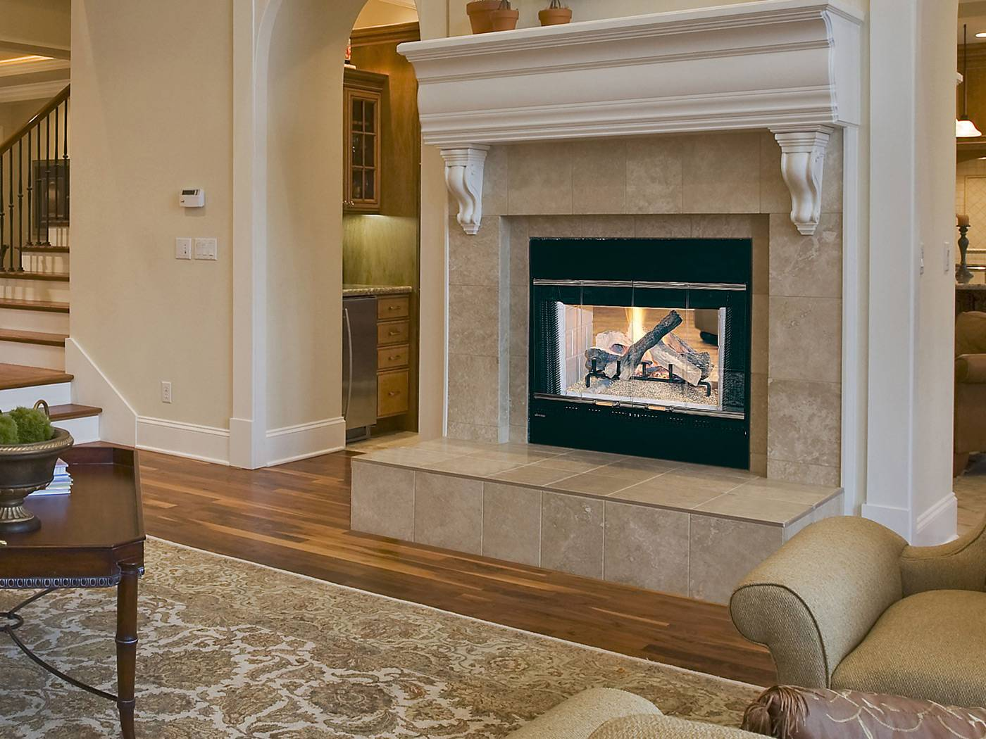 The Hst 48d Wood Burning Fireplace