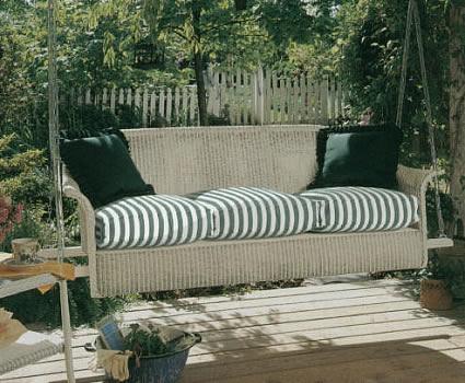 Lloyd Flanders Porch Sofa Swing Patio Furniture Okemos Mi