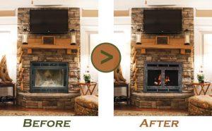 Fireplace Gl Door Replacement Doors Mi