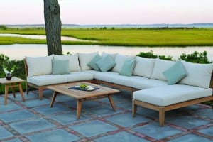 Teak Sectional Group