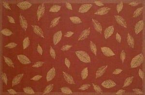 Tropez Leaf Red
