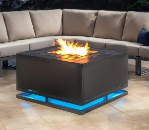 Chat Height Fire Pit Tables Gas Table In Okemos Mi